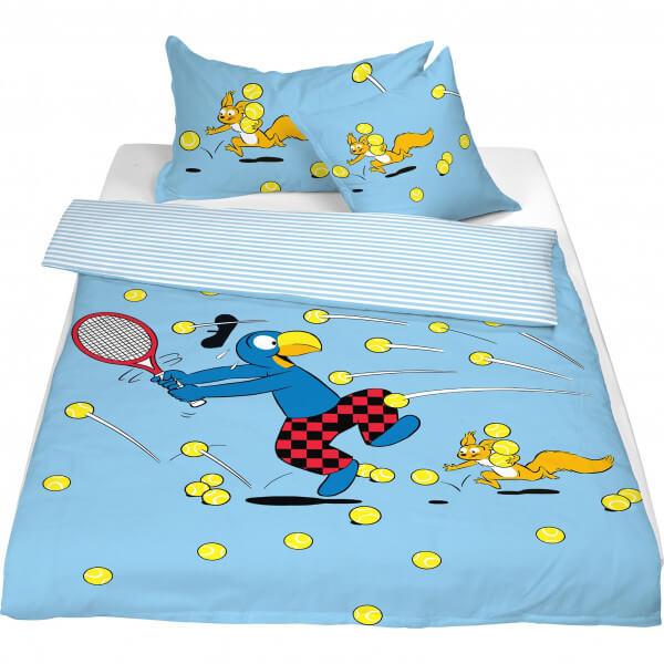 Bettwäsche Globi «Tennis»