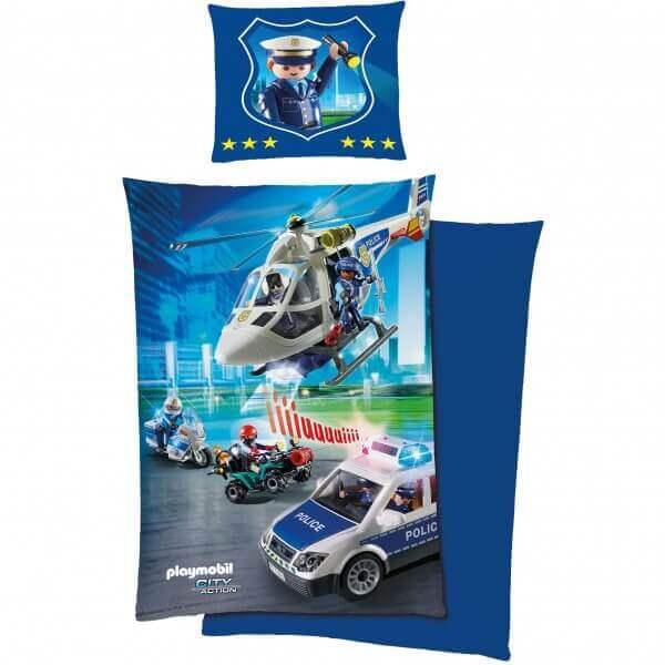Bettwäsche Playmobil Polizei