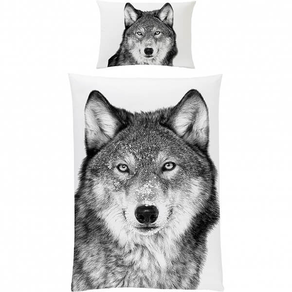Bettwäsche Wolf