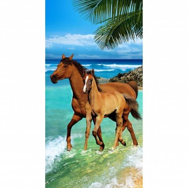 Strandtuch Jungpferd