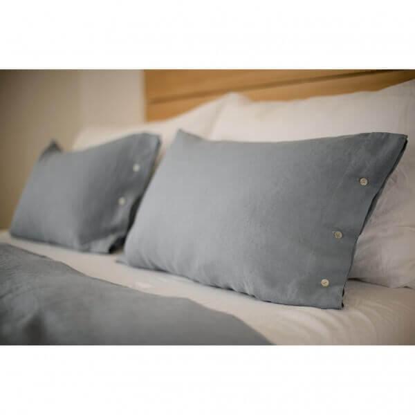 bettw sche leinen stone washed blau erwachsene bettw sche. Black Bedroom Furniture Sets. Home Design Ideas
