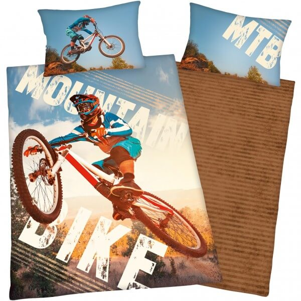 Bettwäsche Young Collection Mountainbike